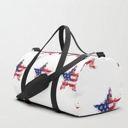Artistic LXXXIX - Americana Star III Duffle Bag