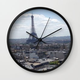 The City of Love Wall Clock