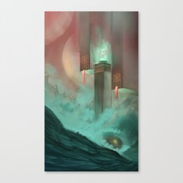 Temple of Earth Canvas Print