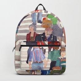 Zebra crossing Backpack