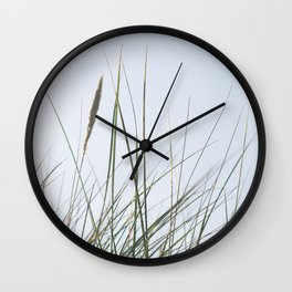Dancing Grasses Wall Clock