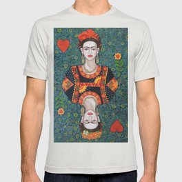Frida, queen of Hearts T-shirt