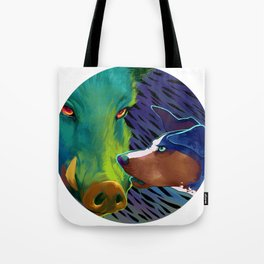 Talk To 'Em! Tote Bag