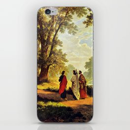Road To Emmaus iPhone Skin