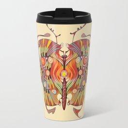 tribal butterfly  Travel Mug