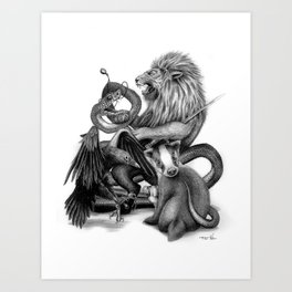The Founders Art Print