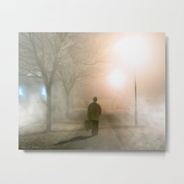 Finding The Way Home - Galway - Ireland Metal Print