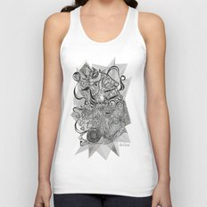 Life of Lines Unisex Tank Top