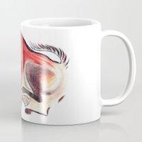 bull Mugs featuring bull by siloto