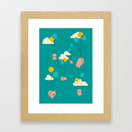 Pigs Fly Framed Art Print