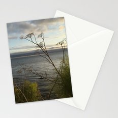Overlooking the Pacific at Sunset Stationery Cards