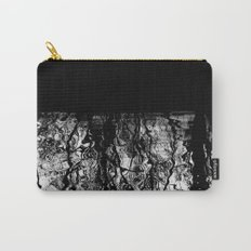 Black and White Tree Branch Silhouette Reflections Carry-All Pouch