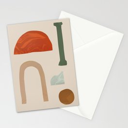 Shapes from Rome Stationery Cards