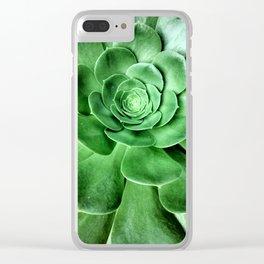 Aeonium Clear iPhone Case
