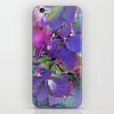 colorful autumn iPhone Skin