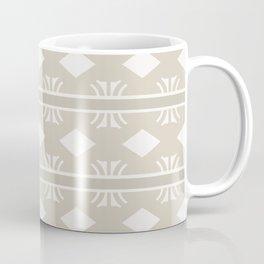 Coffee and Cream Aztec Design Coffee Mug