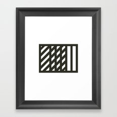 #541 Overlap – Geometry Daily Framed Art Print
