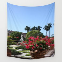 Bougainvillea Row Wall Tapestry