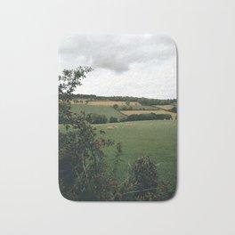 England rural landscape Bath Mat