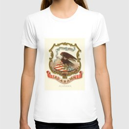 Historical Coat of Arms of Alabama, 1876 T-shirt