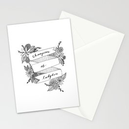 Champion of Ladydom No. 3 Stationery Cards