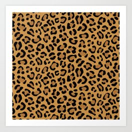 Leopard Prints Art Print
