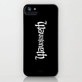 Wavelength iPhone Case
