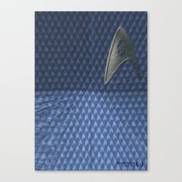 Energize - Blue Shirt Canvas Print