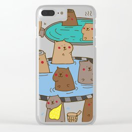 Capybara Clear iPhone Case