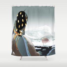 MU: Merloki2 Shower Curtain