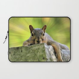 Relaxed Squirrel Laptop Sleeve