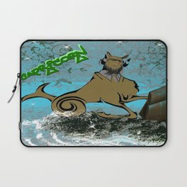 Capricorn Astrology Sign Laptop Sleeve