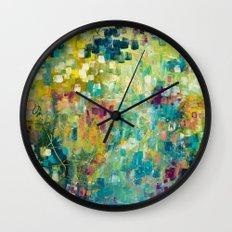Rays of Joy Wall Clock