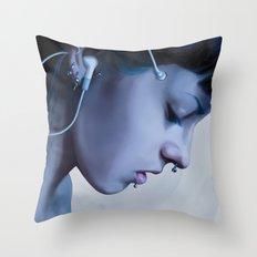 Listen Yourself Throw Pillow