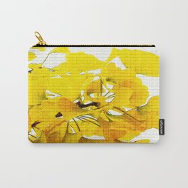Yellow Ginko Leaves  Carry-All Pouch