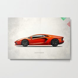 The Aventador Metal Print