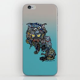 Dragon Cat (Color) iPhone Skin