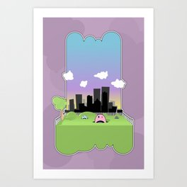 We May Have Taken a Wrong Turn... Art Print
