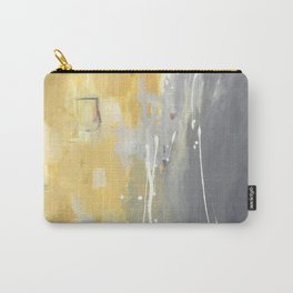 50 Shades of Grey and Yellow Carry-All Pouch