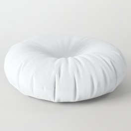 Off-White - Linen White - Ultra Pale Gray Solid Color Parable to Behr Dutch White MQ3-31 Floor Pillow