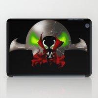 spawn iPad Cases featuring Chibi Spawn by artwaste