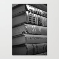 literature Canvas Prints featuring Literature by Lanie