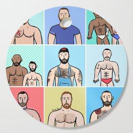 Beard Boy: Boys, Boys, Boys Cutting Board