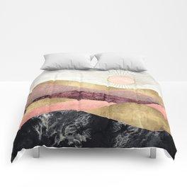 Blush Sun Comforters