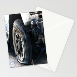 Flat Tire! Stationery Cards