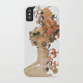Freya's Hair (Gold) iPhone Case