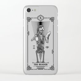 The Reader X Tarot Card Clear iPhone Case