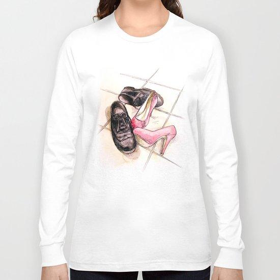 glittery shoes Long Sleeve T-shirt