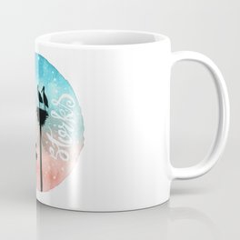 Storks Watercolor Coffee Mug