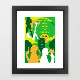 James Bond Golden Era Series :: The Man with the Golden Gun Framed Art Print